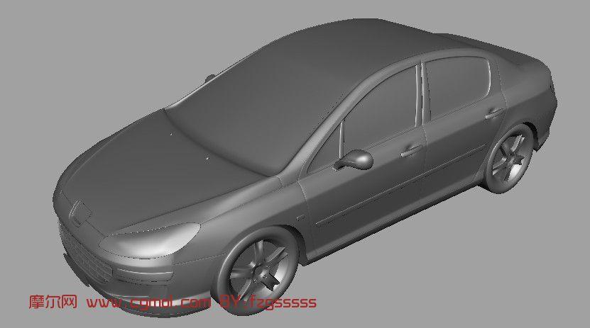 本田小汽车3D模型