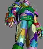 超精细钢铁侠3D模型,obj格式,超真细节