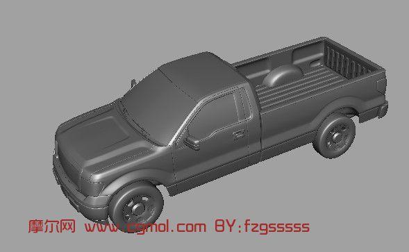 长城皮卡汽车3D模型
