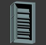 配电箱,电路3d模型