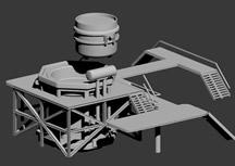 炼钢厂,炼钢炉3d模型