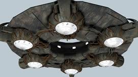 UFO飞行器,不明飞行物3D模型