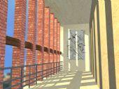 长廊,走廊,走道,过道3D模型