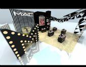 模型专业,整体3D效果,商店展厅,室内模型,3D模景观设计苹果笔记本图片