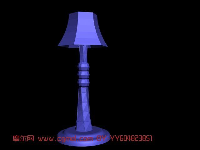 台灯,落地台灯3D模型