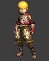 龙之谷特殊战士套装3D模型