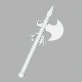 3D战斧,斧头,斧子maya模型