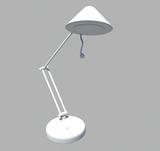 简易台灯maya模型