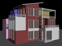 别墅,私人住宅3D模型