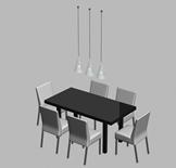 餐桌3D模型