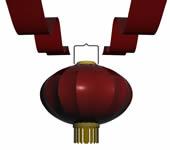 大灯笼,红灯笼3D模型