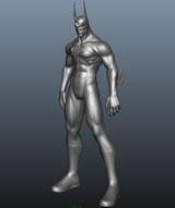 另类蝙蝠侠maya模型