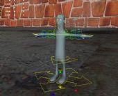 很好用的卡通绑定角色maya模型