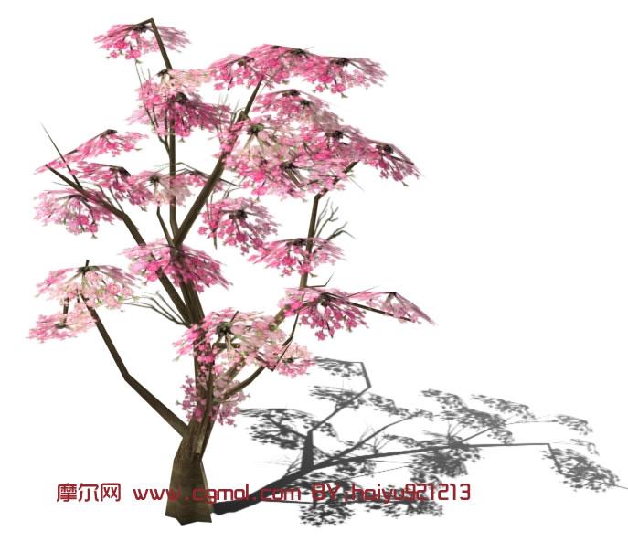画桃树桃花的简笔画_桃树的简笔画清晰图    www.txtbzxx.