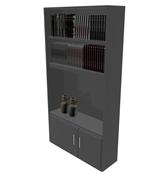 室内书柜,书架3D模型
