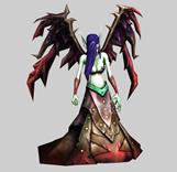 LOL英雄联盟堕天使Morgana,莫甘娜3D模型