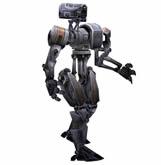 机器人走路动画3D源文件