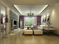 简装客厅3D模型