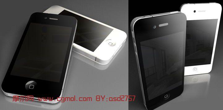 Iphone4S手机模型