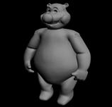 雪熊3D模型
