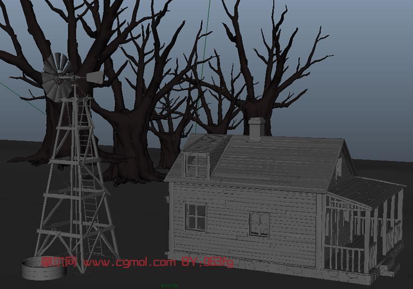 场景模型,3d模型免费下载