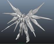 强袭自由高达3D模型