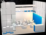 展览馆,展览厅,展厅3D模型
