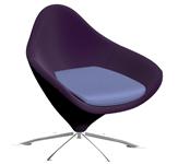 一个旋转座椅3D模型