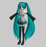 MMD版初音未来3D模型