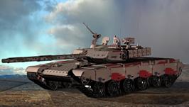 中国99坦克3D模型