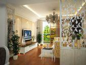 阳城百合家装,整套室内家装3D模型