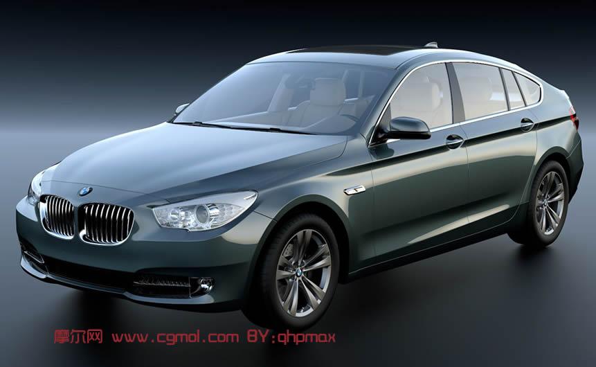 BMW5系列汽车3D模型