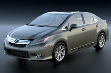 Lexus雷克萨斯HS250汽车3D模型