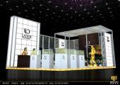 环保铝型材展台,展厅3D模型