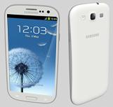 Samsung Galaxy S3手机3D模型