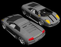 3D兰博基尼汽车模型