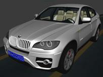 BMW宝马X6汽车3D模型
