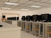 机房,网吧3D模型