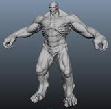 HULK,绿巨人3D模型