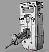 手持工业打标机3D模型