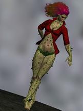舞女游戏角色3D模型