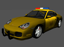 Porsche保时捷警车maya模型