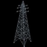输电杆塔,电塔3D模型