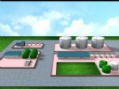 注气站,联合站maya模型