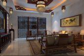 中式室内客厅,古典客厅3D模型
