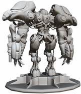 maya强悍机器人模型