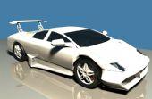 兰博基尼汽车maya模型