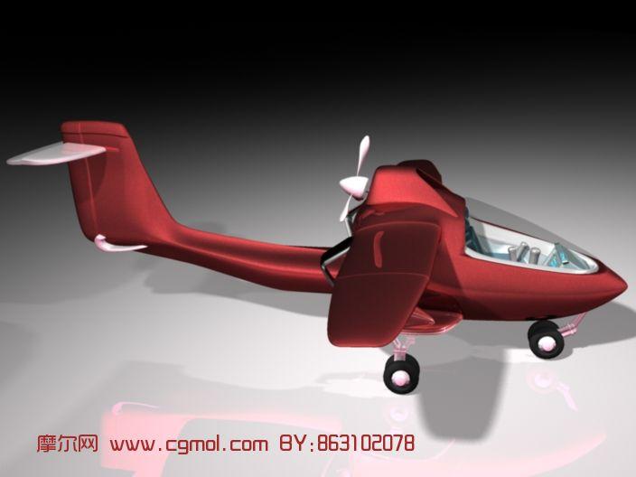 初学者,小型飞机maya模型 飞机 运输模型高清图片