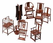中式椅子,古典椅子3D魔