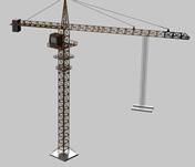 自己做的塔吊3D模型
